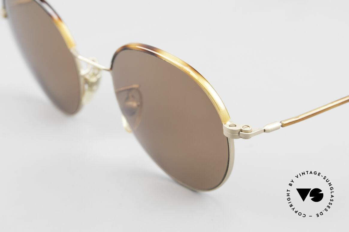 Cutler And Gross 0391 Runde Brille Windsorringe, schlicht, aber Materialien & Verarbeitung auf top-Niveau, Passend für Herren und Damen