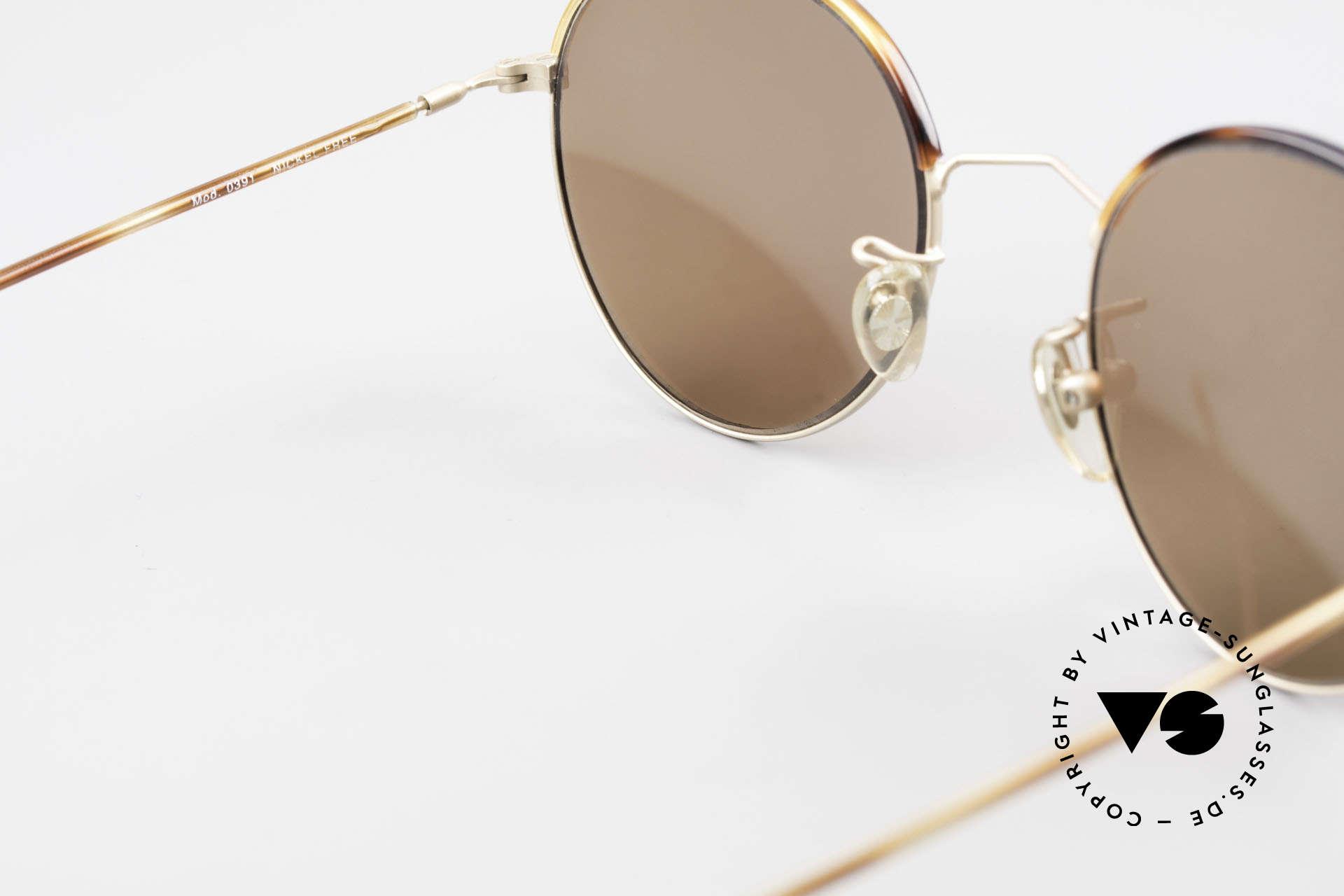 Cutler And Gross 0391 Runde Brille Windsorringe, KEINE Retrobrille, sondern ein 20 Jahre altes Original!, Passend für Herren und Damen