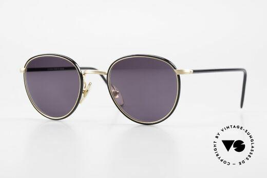 Cutler And Gross 0352 Vintage Panto Sonnenbrille Details