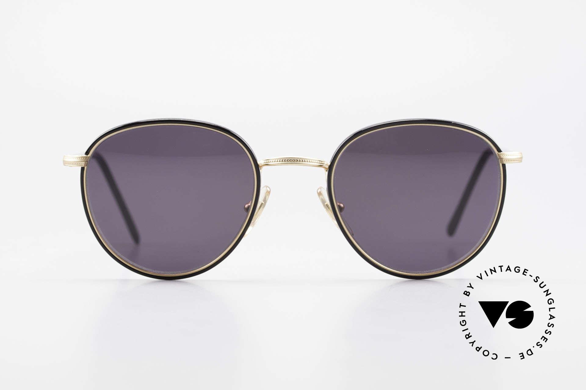 Cutler And Gross 0352 Vintage Panto Sonnenbrille, klassisch, zeitlose Understatement Luxus-Sonnenbrille, Passend für Herren und Damen