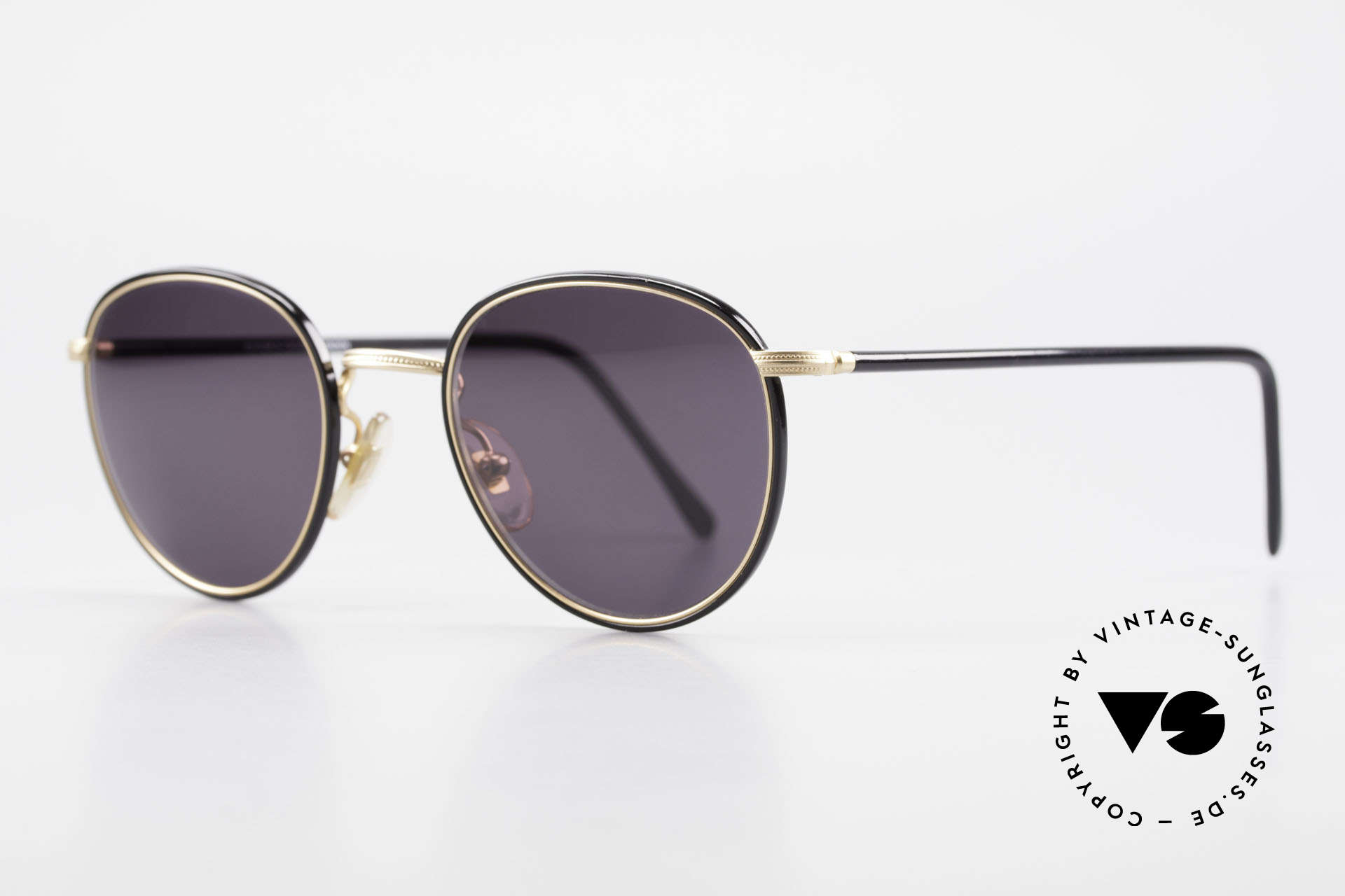 Cutler And Gross 0352 Vintage Panto Sonnenbrille, stilvoll & unverwechselbar; auch ohne pompöse Logos, Passend für Herren und Damen