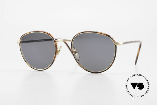 Cutler And Gross 0352 Panto Vintage Sonnenbrille Details