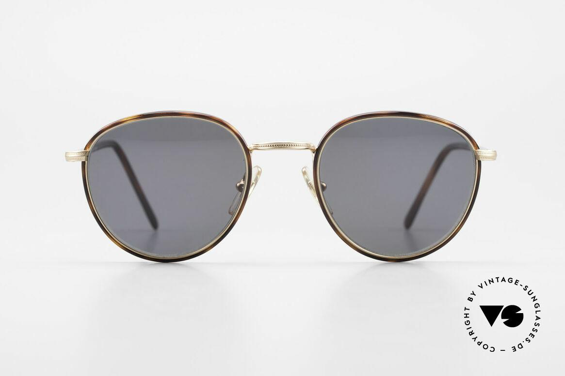 Cutler And Gross 0352 Panto Vintage Sonnenbrille, klassisch, zeitlose Understatement Luxus-Sonnenbrille, Passend für Herren und Damen