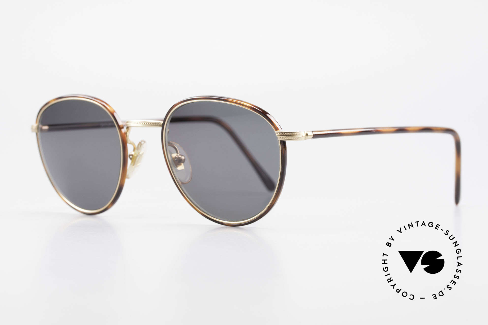 Cutler And Gross 0352 Panto Vintage Sonnenbrille, stilvoll & unverwechselbar; auch ohne pompöse Logos, Passend für Herren und Damen