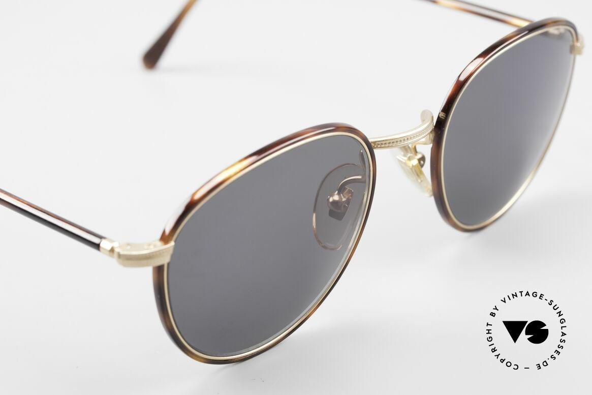 Cutler And Gross 0352 Panto Vintage Sonnenbrille, ungetragen; Modell ist auch beliebig optisch verglasbar, Passend für Herren und Damen