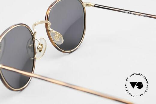 Cutler And Gross 0352 Panto Vintage Sonnenbrille, KEINE Retrobrille, sondern ein 20 Jahre altes Original!, Passend für Herren und Damen