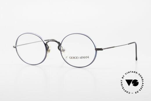 Giorgio Armani 247 No Retro Brille Oval Vintage Details