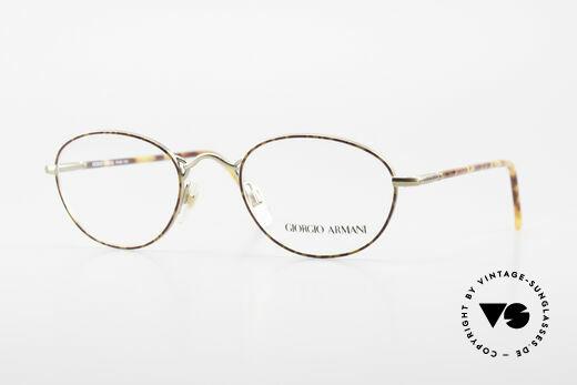 Giorgio Armani 225 Klassische Vintage Brille 90er Details