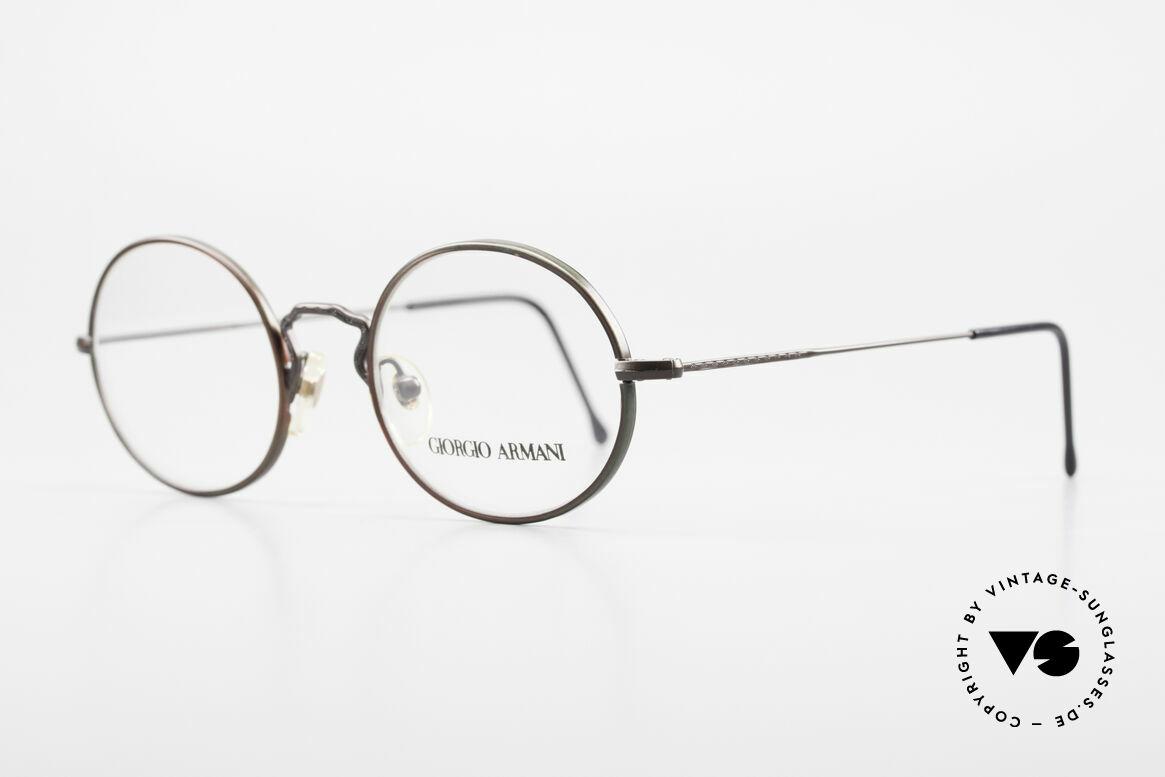 Giorgio Armani 247 Lackierung Glänzt Braun Grün, Lackierung glänzt abhängig von Sonneneinstrahlung, Passend für Herren