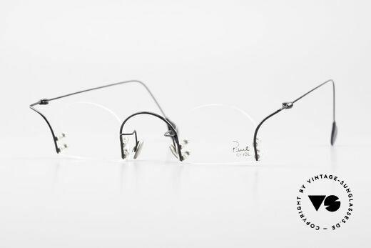 Paul Chiol 2000 Randlose Vintage Kunstbrille Details