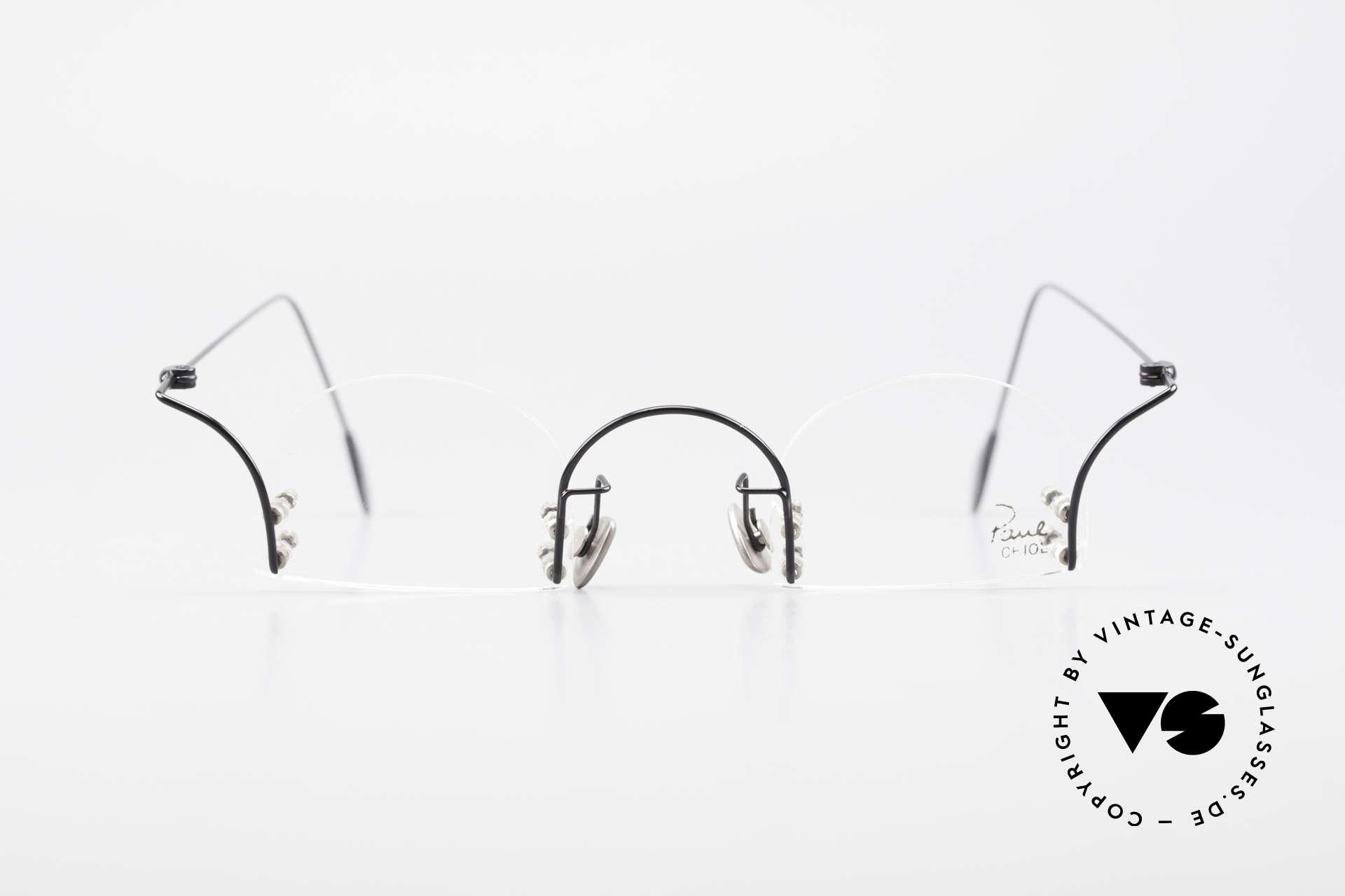 Paul Chiol 2000 Randlose Vintage Kunstbrille, ein Synonym für anspruchsvolle rahmenlose Brillen, Passend für Herren und Damen