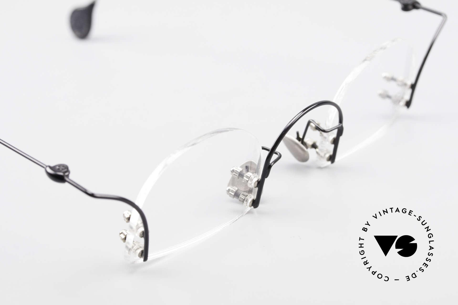 Paul Chiol 2000 Randlose Vintage Kunstbrille, hier kann Ihr Optiker beweisen, was er wirklich kann!, Passend für Herren und Damen