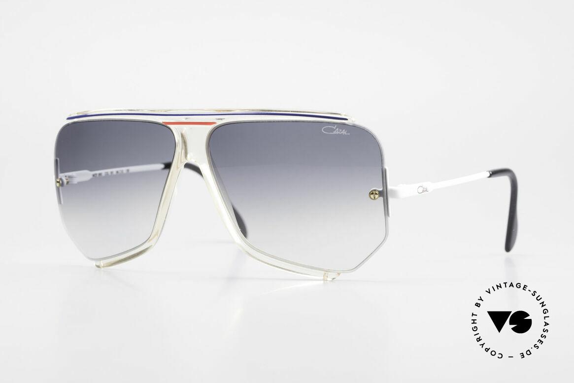 Cazal 850 Old School 80er Sonnenbrille, einzigartige Sonnenbrille von CAri ZALloni (CAZAL), Passend für Herren