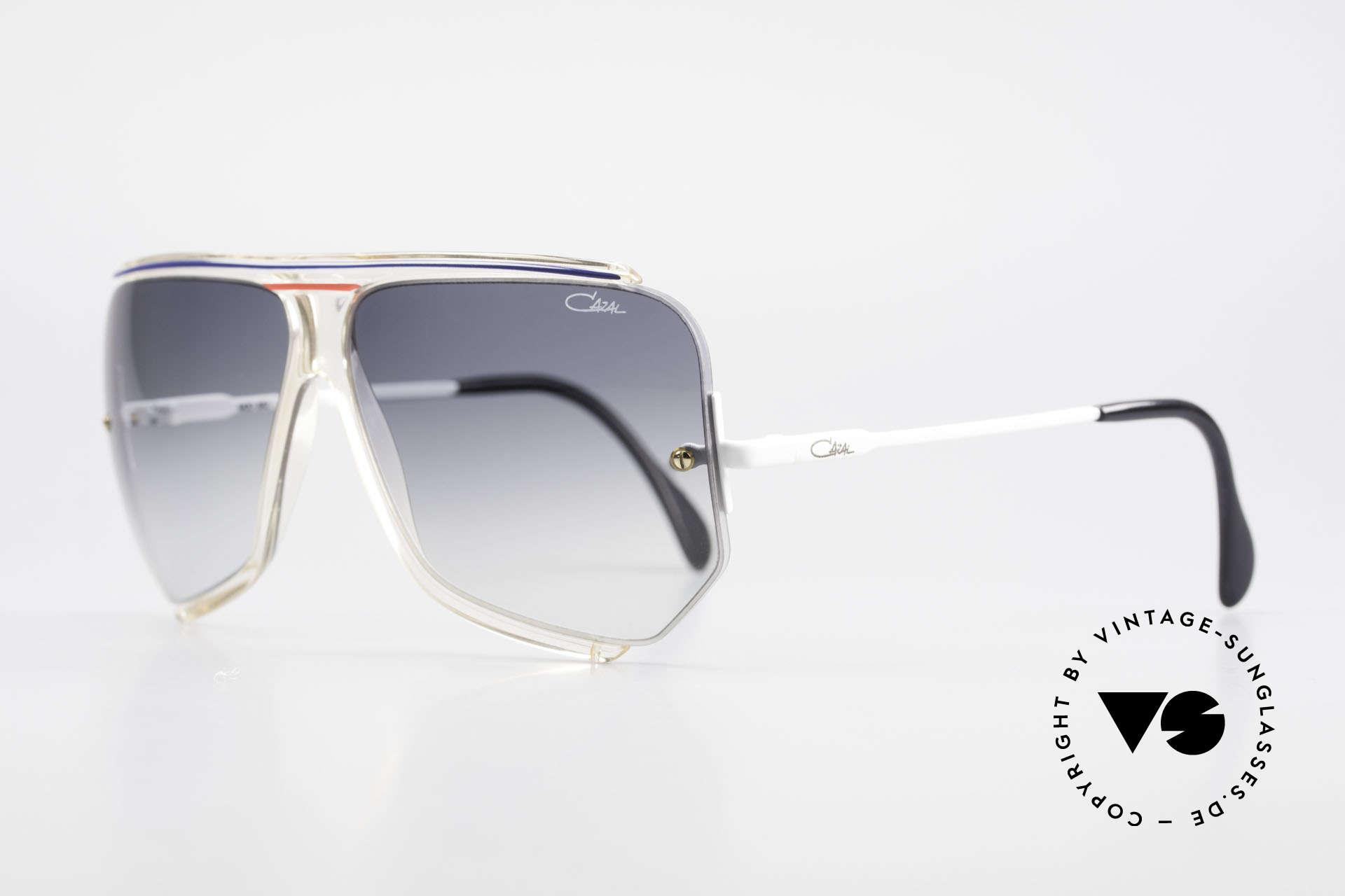 Cazal 850 Old School 80er Sonnenbrille, viel gesuchte vintage CAZAL Designersonnenbrille, Passend für Herren