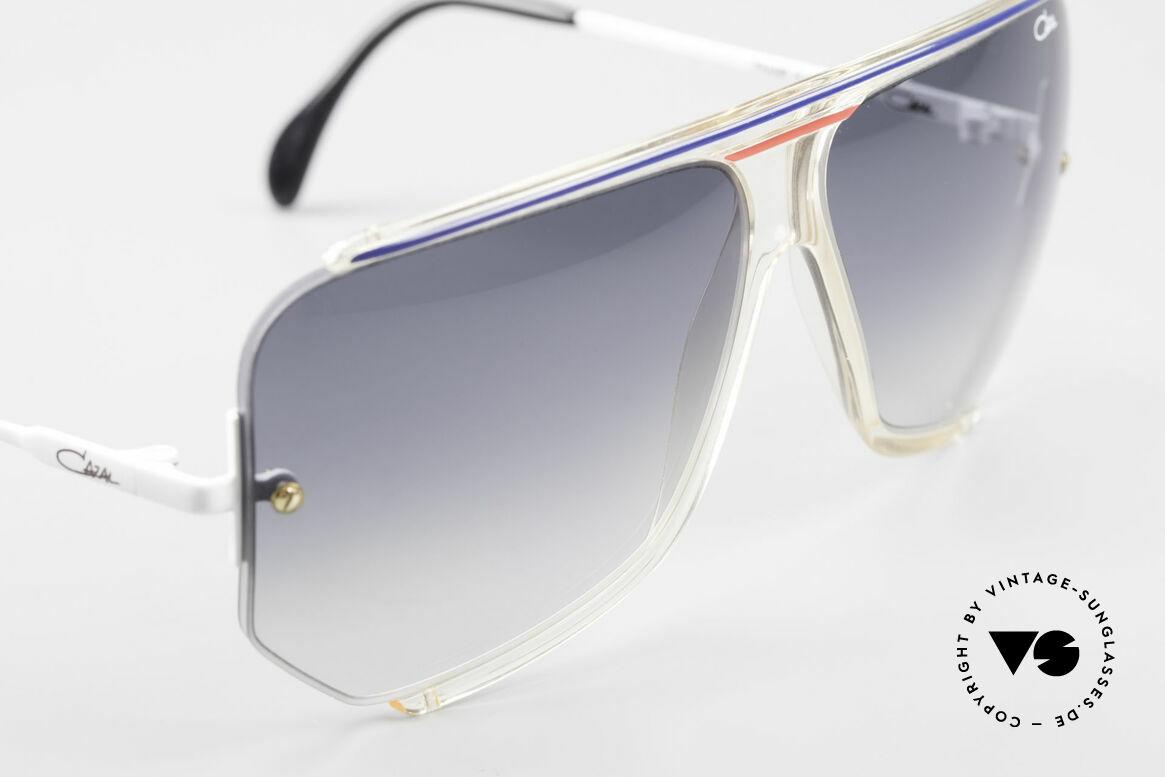 Cazal 850 Old School 80er Sonnenbrille, ungetragenes Einzelstück (inkl. Soft-Etui von Cazal), Passend für Herren