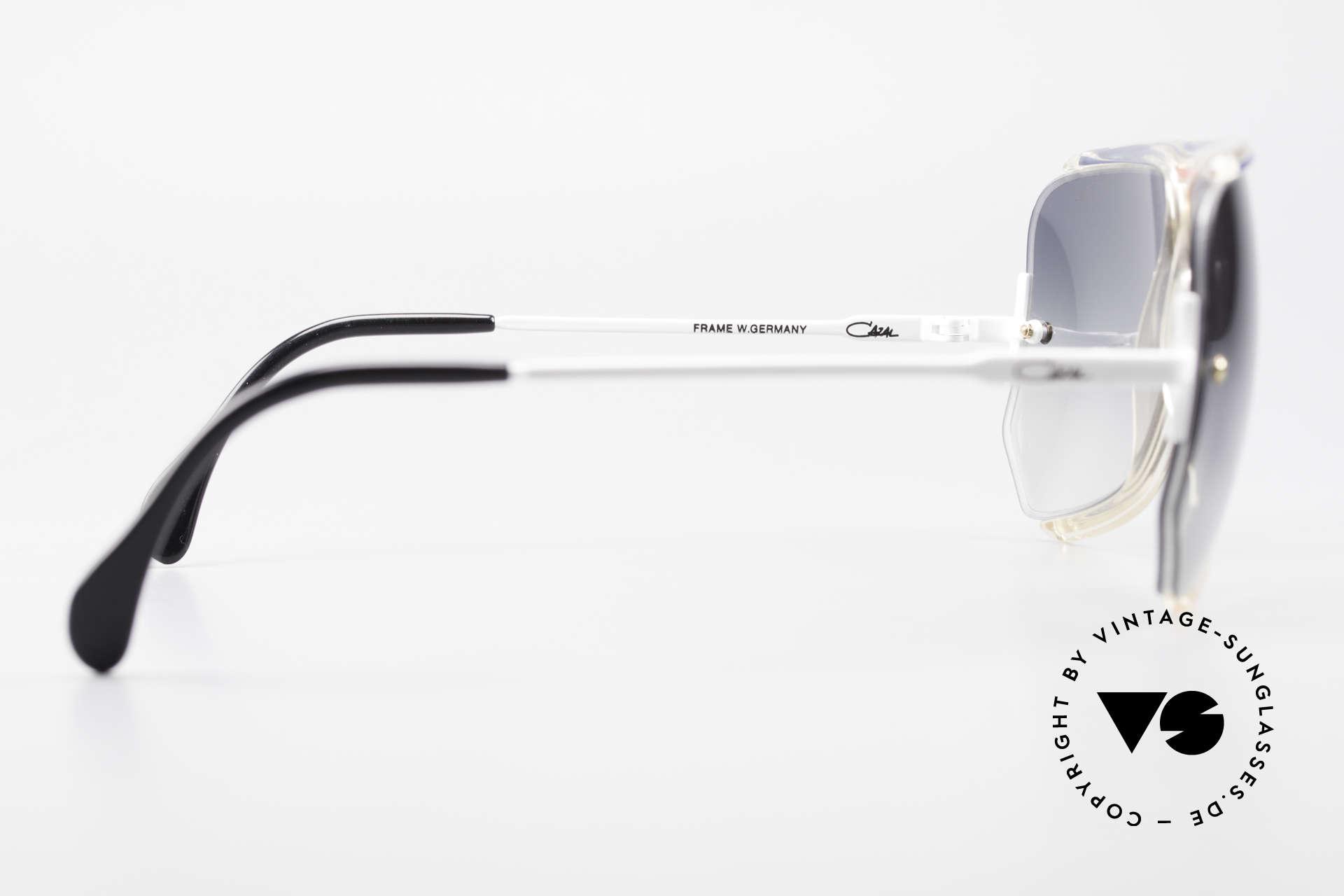 Cazal 850 Old School 80er Sonnenbrille, KEINE Retrobrille; ein 80er West Germany Original!, Passend für Herren