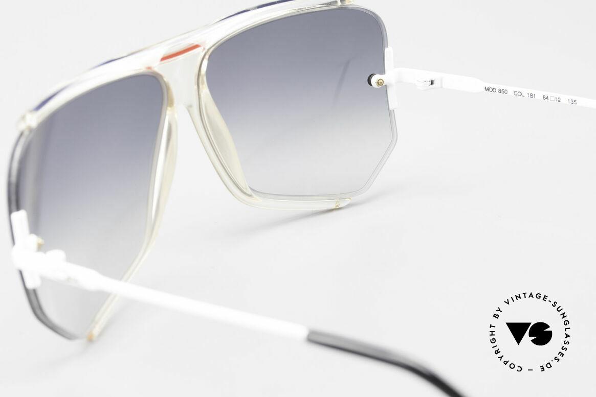 Cazal 850 Old School 80er Sonnenbrille, Größe: large, Passend für Herren