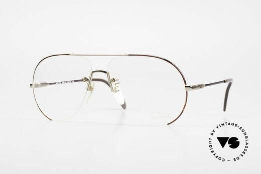 Cazal 723 Randlose XL 80er Pilotenbrille Details