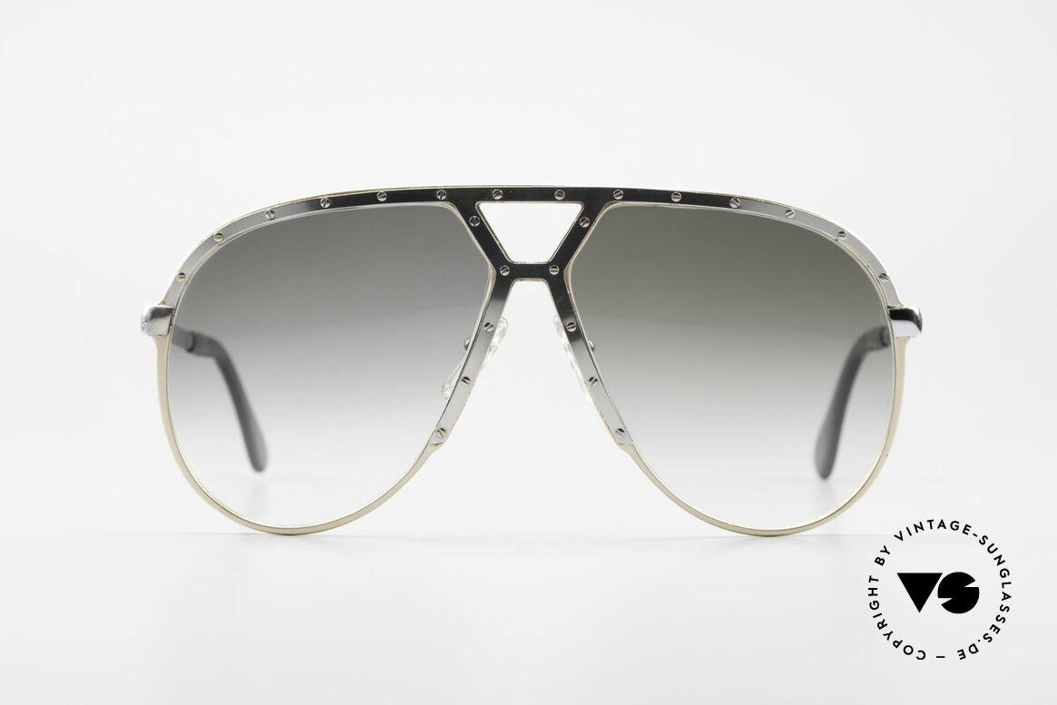 Alpina M1 Erste 80er Generation Brille, eine Rarität von 1981 mit Hart-Etui von Alpina, Passend für Herren