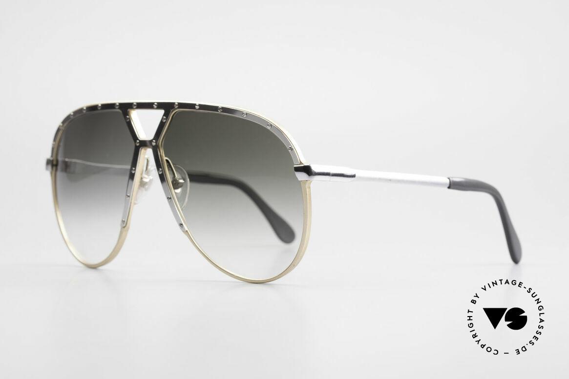 Alpina M1 Erste 80er Generation Brille, zudem etwas größer als die M1-Modelle ab 1985, Passend für Herren