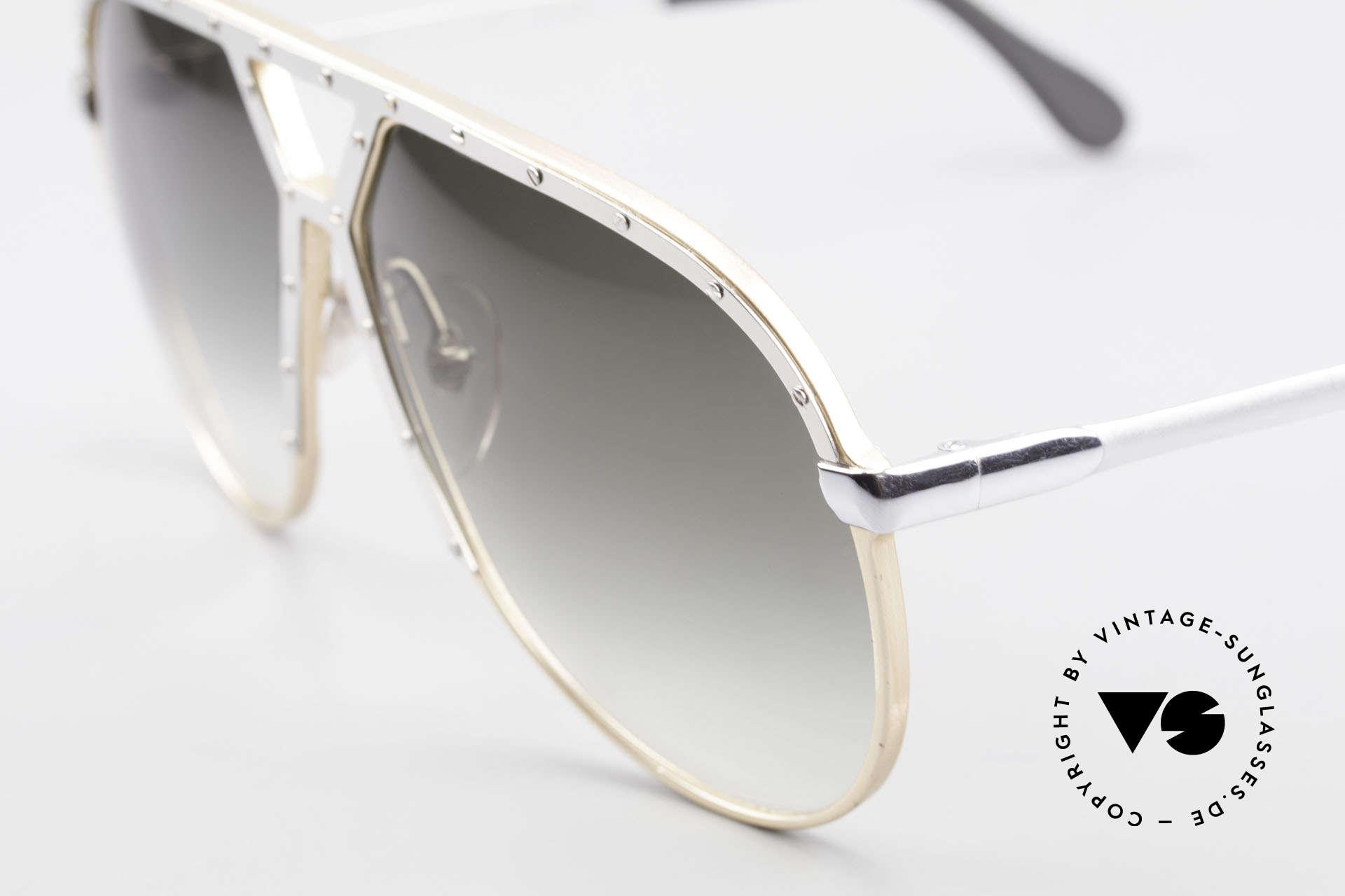 Alpina M1 Erste 80er Generation Brille, Stevie Wonder machte dieses Modell weltberühmt, Passend für Herren