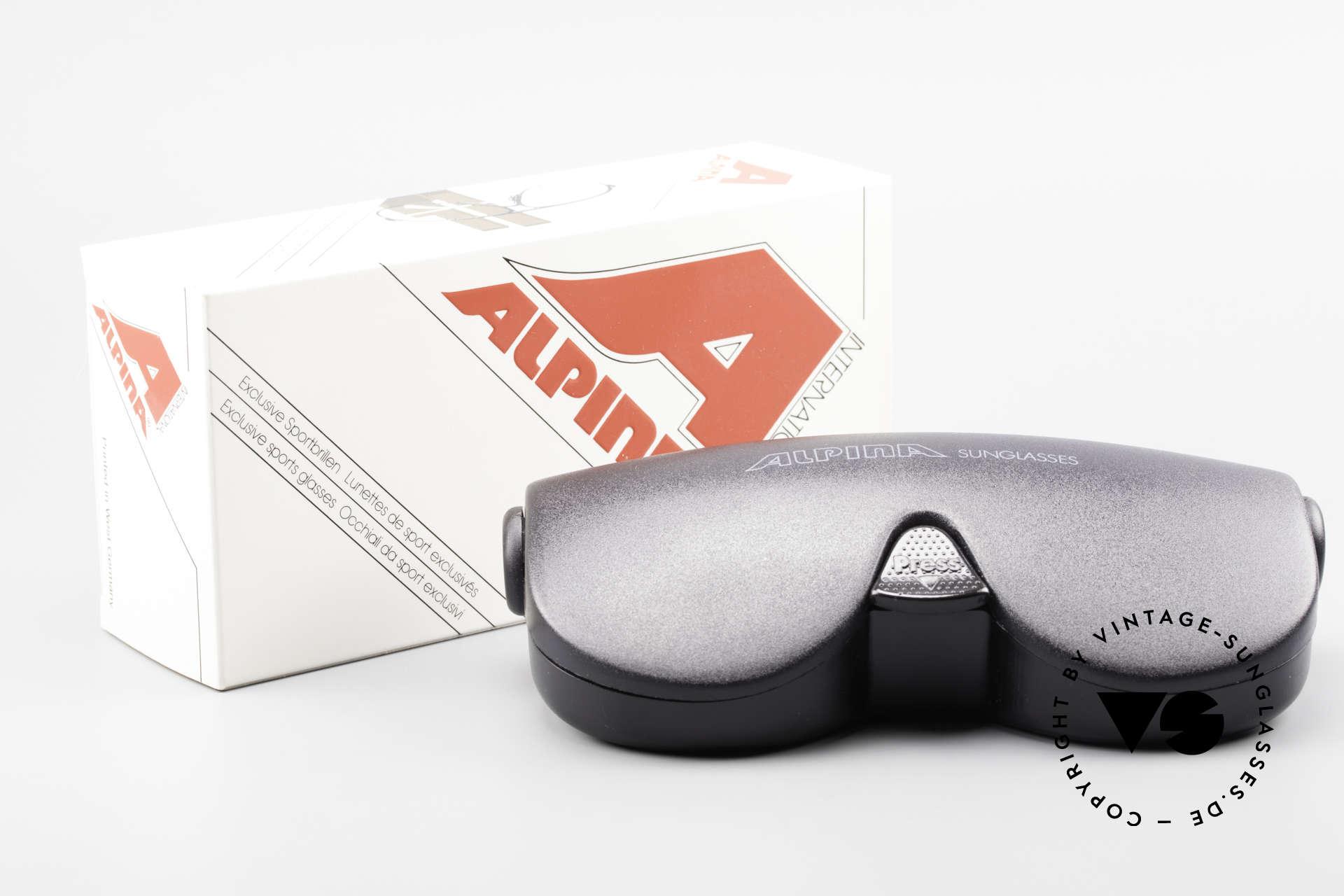 Alpina M1 Erste 80er Generation Brille, KEINE RETROBRILLE, sondern eine echte Legende!, Passend für Herren