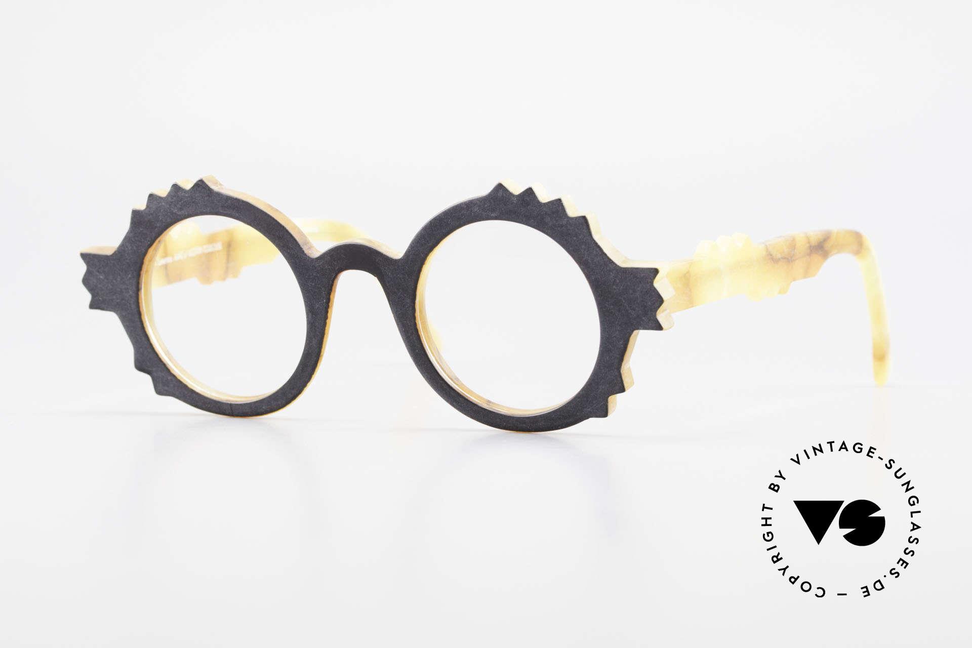Anne Et Valentin Herrison Kunstvolle 80er Vintage Brille, alte vintage Brille von 'Anne Et Valentin' aus Toulouse, Passend für Damen