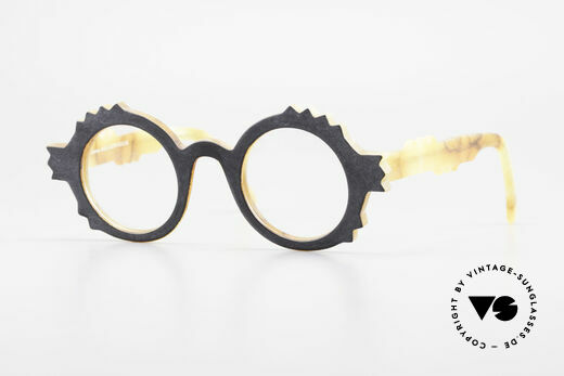 Anne Et Valentin Herrison Kunstvolle 80er Vintage Brille Details
