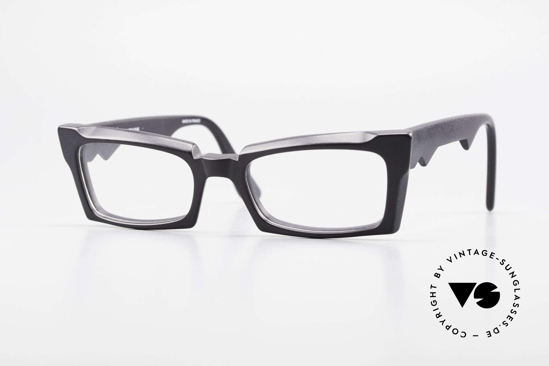 Anne Et Valentin Belphegor Alte 80er Brille Echt Vintage, alte vintage Brille von 'Anne Et Valentin' aus Toulouse, Passend für Damen