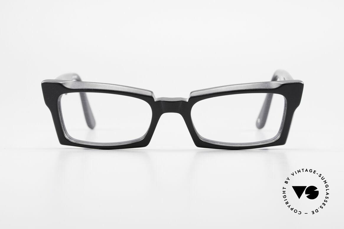 Anne Et Valentin Belphegor Alte 80er Brille Echt Vintage, das Ehepaar Anne (Künstlerin) und Valentin (Optiker), Passend für Damen