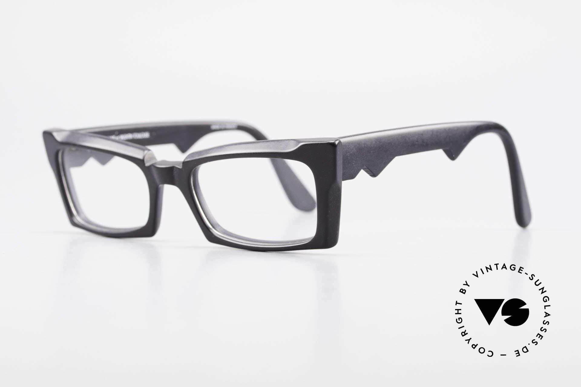 Anne Et Valentin Belphegor Alte 80er Brille Echt Vintage, kreieren und leben seit 1980 für ihre eigene Kollektion, Passend für Damen