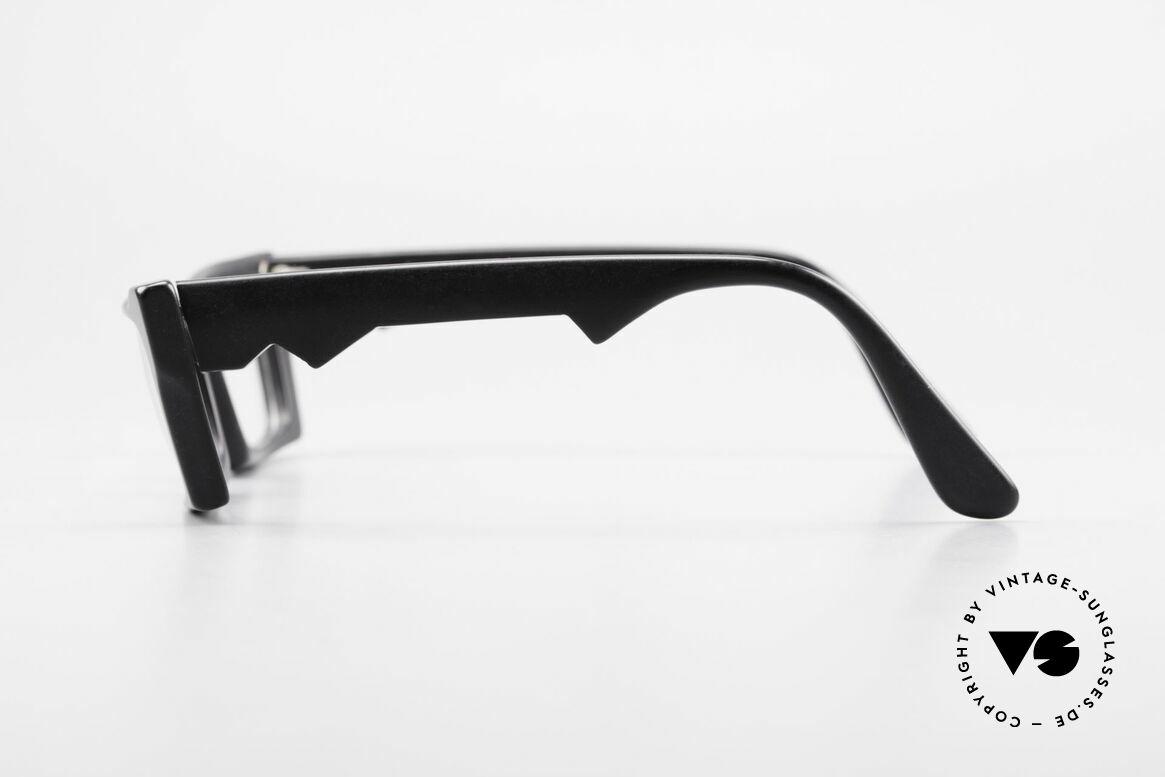 Anne Et Valentin Belphegor Alte 80er Brille Echt Vintage, aus Energie, Licht, Material, Linie, Kontrast und Farbe, Passend für Damen