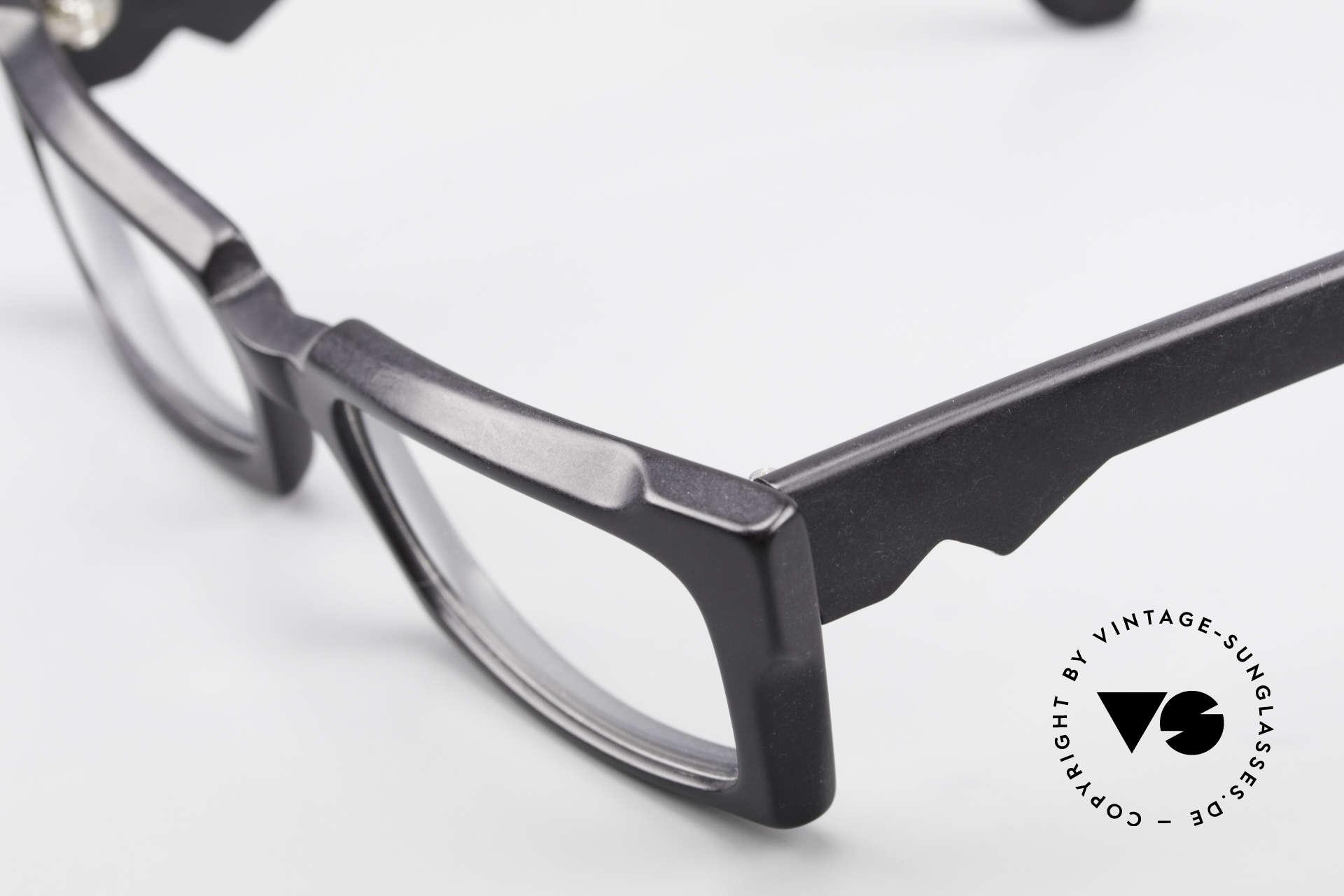 Anne Et Valentin Belphegor Alte 80er Brille Echt Vintage, dieses Modell stammt noch aus den Anfängen von A&V, Passend für Damen