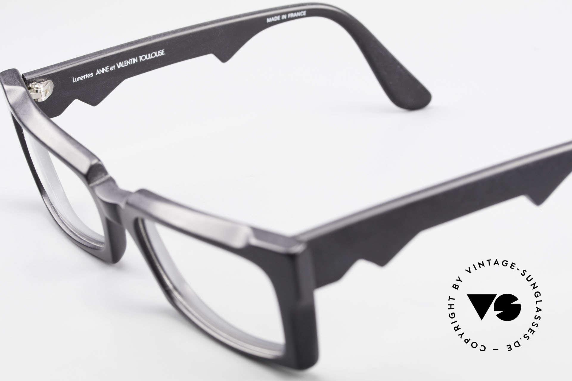 Anne Et Valentin Belphegor Alte 80er Brille Echt Vintage, Größe: small, Passend für Damen