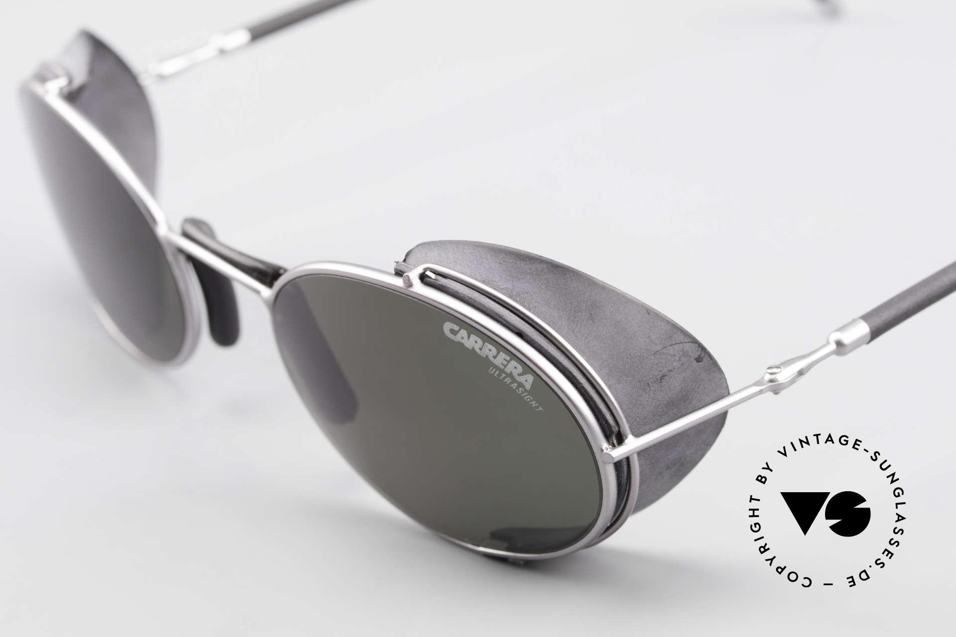 Carrera 5580 90er Sportbrille Steampunk, KEIN Retro; ein altes Original mit 100% UV Schutz, Passend für Herren und Damen