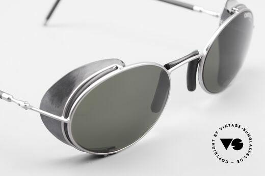 Carrera 5580 90er Sportbrille Steampunk, 120mm Breite = eher eine KLEINE Größe (unisex)!, Passend für Herren und Damen