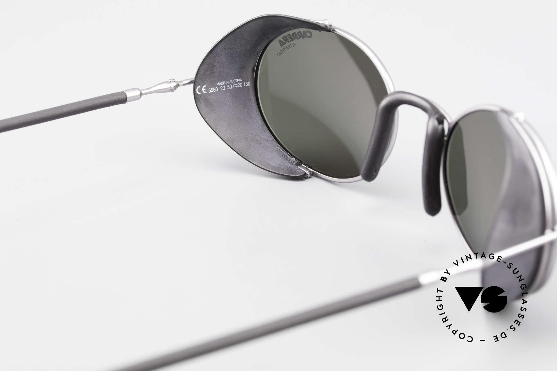 Carrera 5580 90er Sportbrille Steampunk, Größe: small, Passend für Herren und Damen