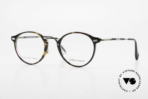 Giorgio Armani 828 Runde Panto Brillenfassung Details