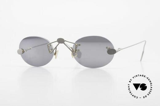 Paul Chiol 01 Kleine Randlose Sonnenbrille Details