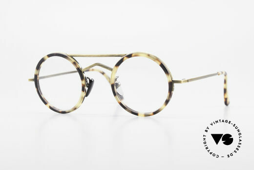 Gianni Versace 620 Runde 90er Vintage Brille Details