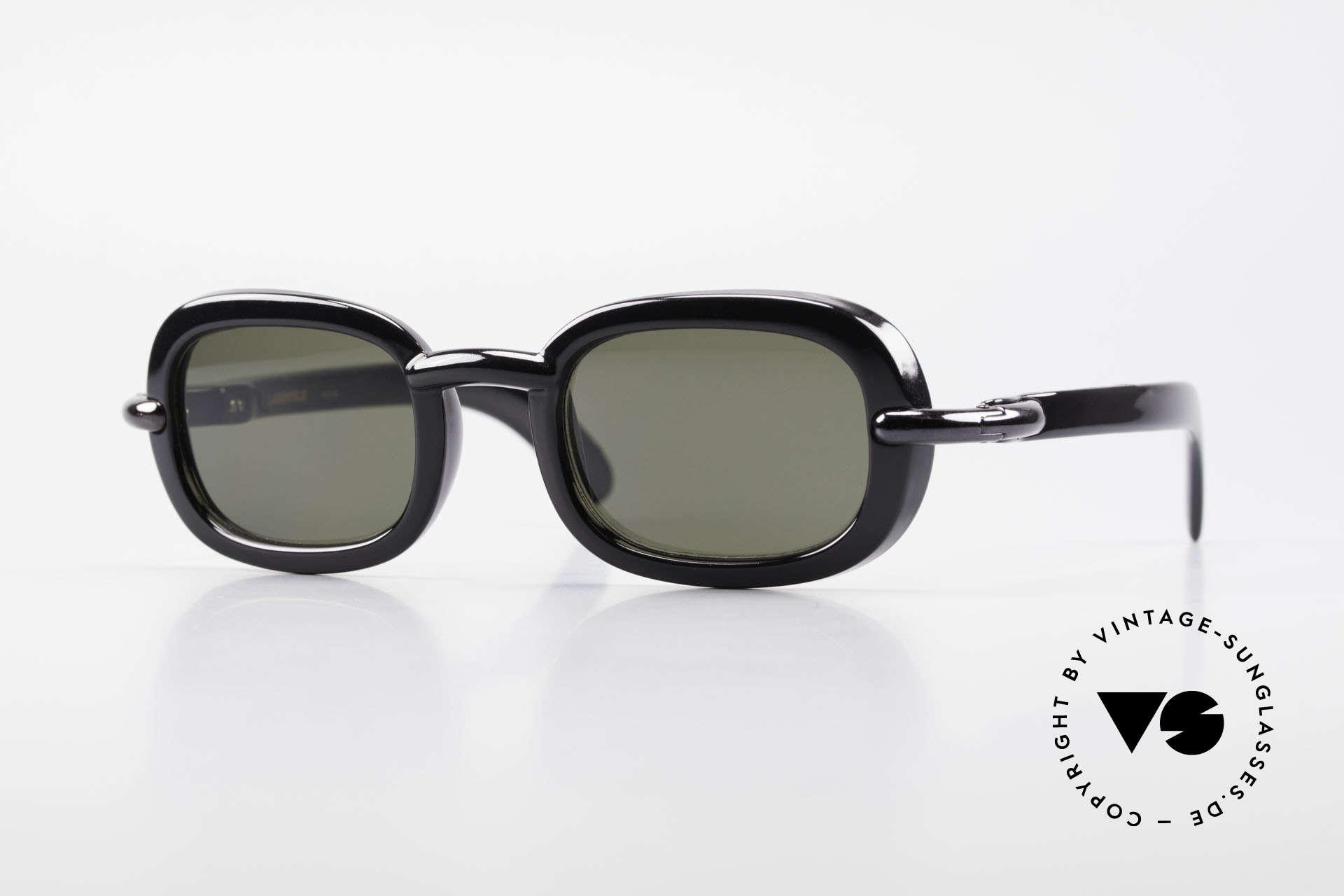 Karl Lagerfeld 4117 Rare 90er Damen Sonnenbrille, echte vintage Designersonnenbrille von Karl Lagerfeld, Passend für Damen