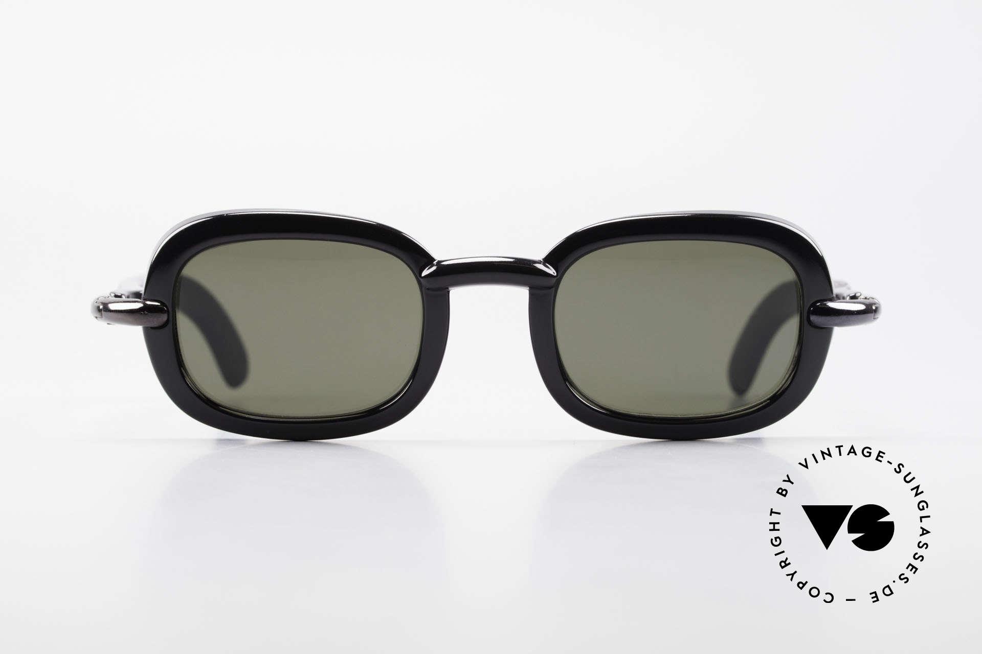 Karl Lagerfeld 4117 Rare 90er Damen Sonnenbrille, 1990er Jahre Lagerfeld Sonnenbrillen sind Kleinserien, Passend für Damen
