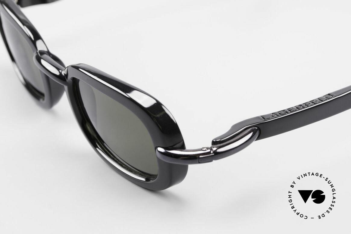 Karl Lagerfeld 4117 Rare 90er Damen Sonnenbrille, ungetragen (wie alle unsere vintage 90er Modeunikate), Passend für Damen