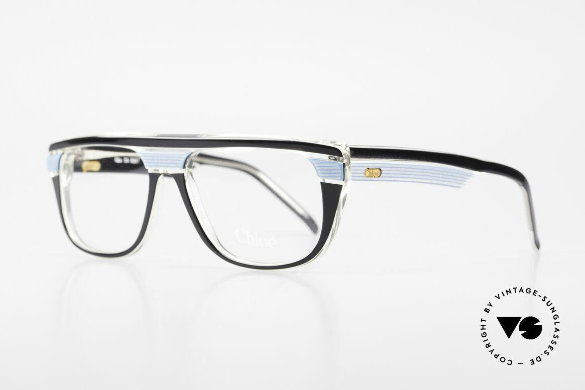 Chloe 8361 Rare Alte 80er Vintage Brille, wirklich seltenes Unisex-Modell (Damen/Herren), Passend für Herren und Damen