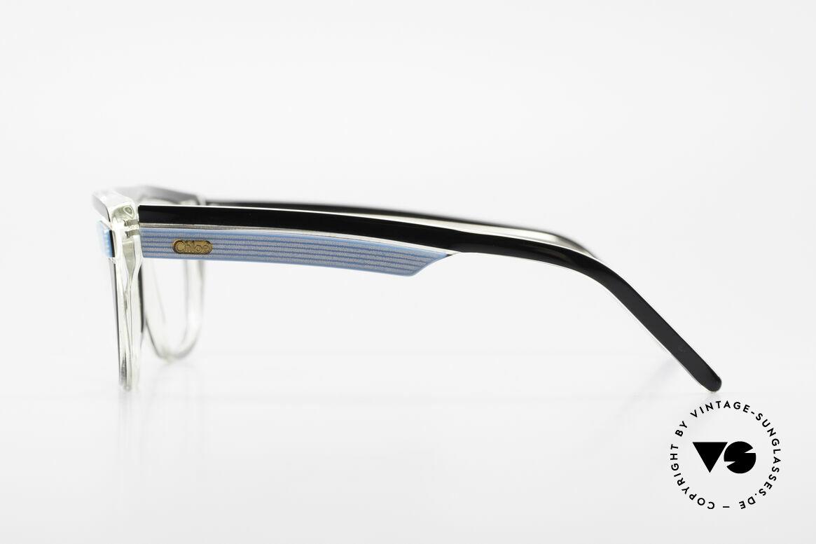 Chloe 8361 Rare Alte 80er Vintage Brille, ungetragen; wie all unsere vintage Chloe Brillen, Passend für Herren und Damen