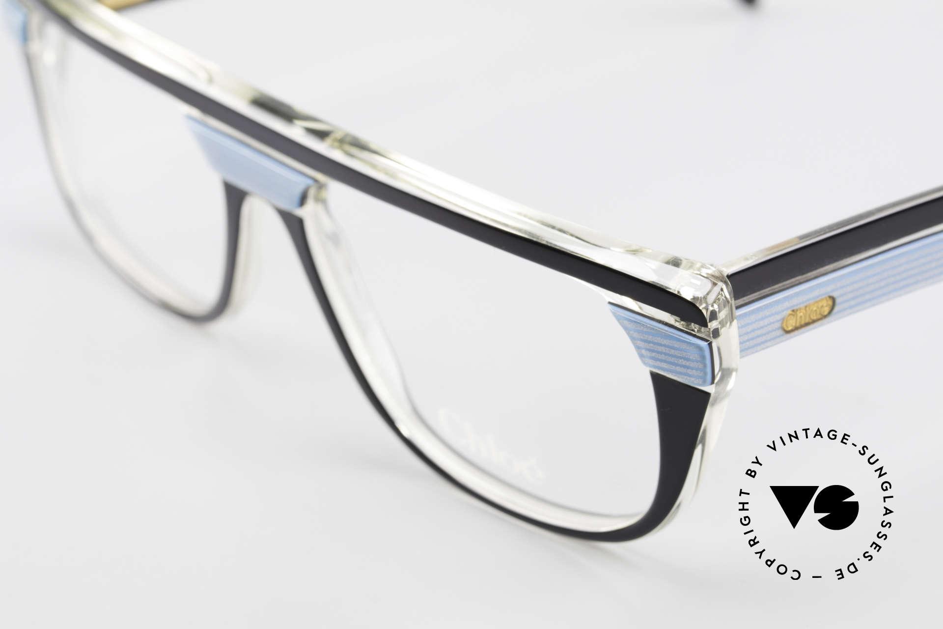 Chloe 8361 Rare Alte 80er Vintage Brille, Keine Retrobrille, sondern ein altes 80er Original, Passend für Herren und Damen
