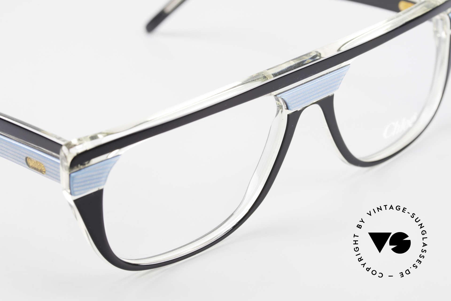 Chloe 8361 Rare Alte 80er Vintage Brille, orig. DEMOgläser können beliebig ersetzt werden, Passend für Herren und Damen