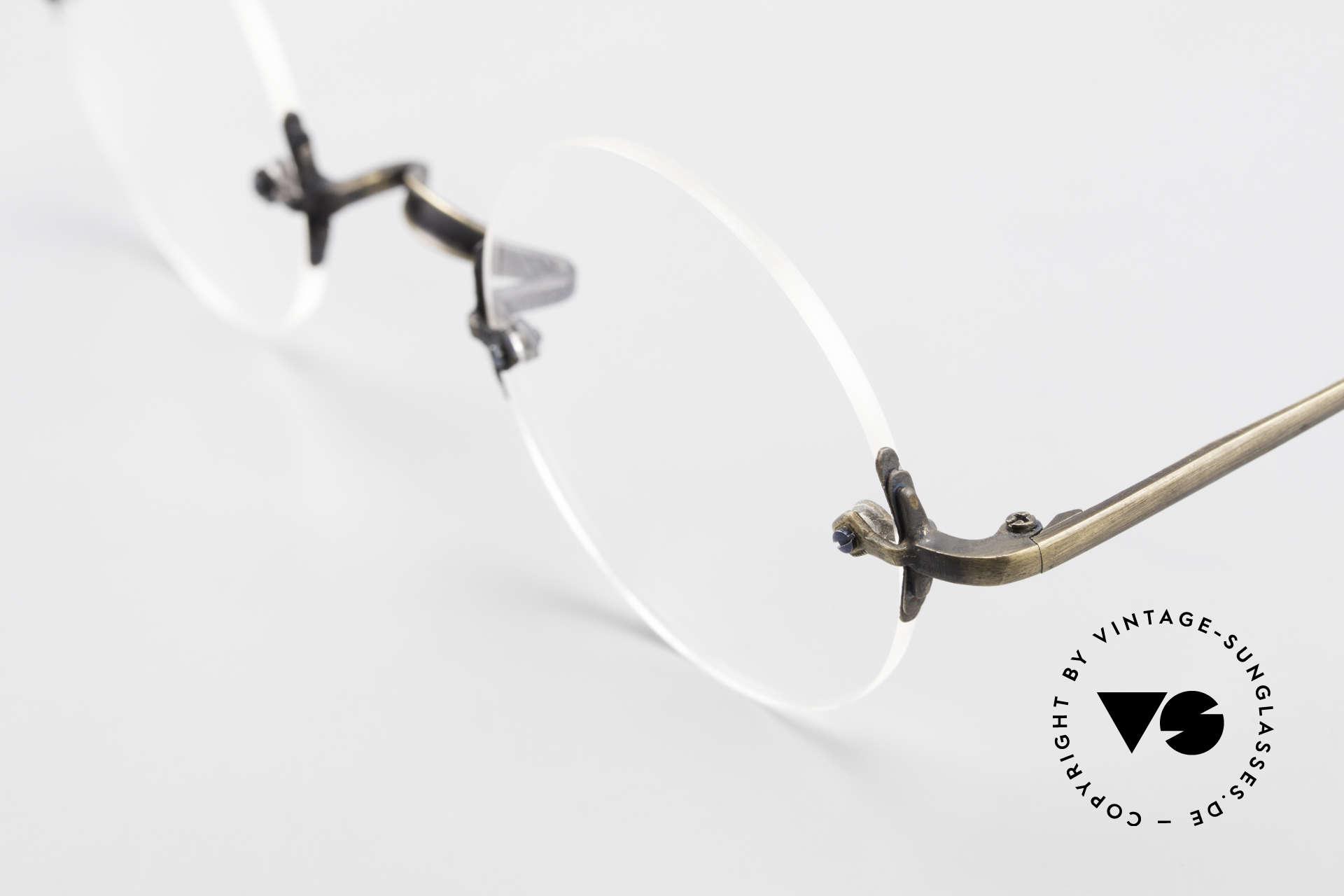 Bonneville by Brendel Schlichte Alte Randlosbrille, Top-Qualität; wirklich noch 'made in W. Germany', Passend für Herren und Damen