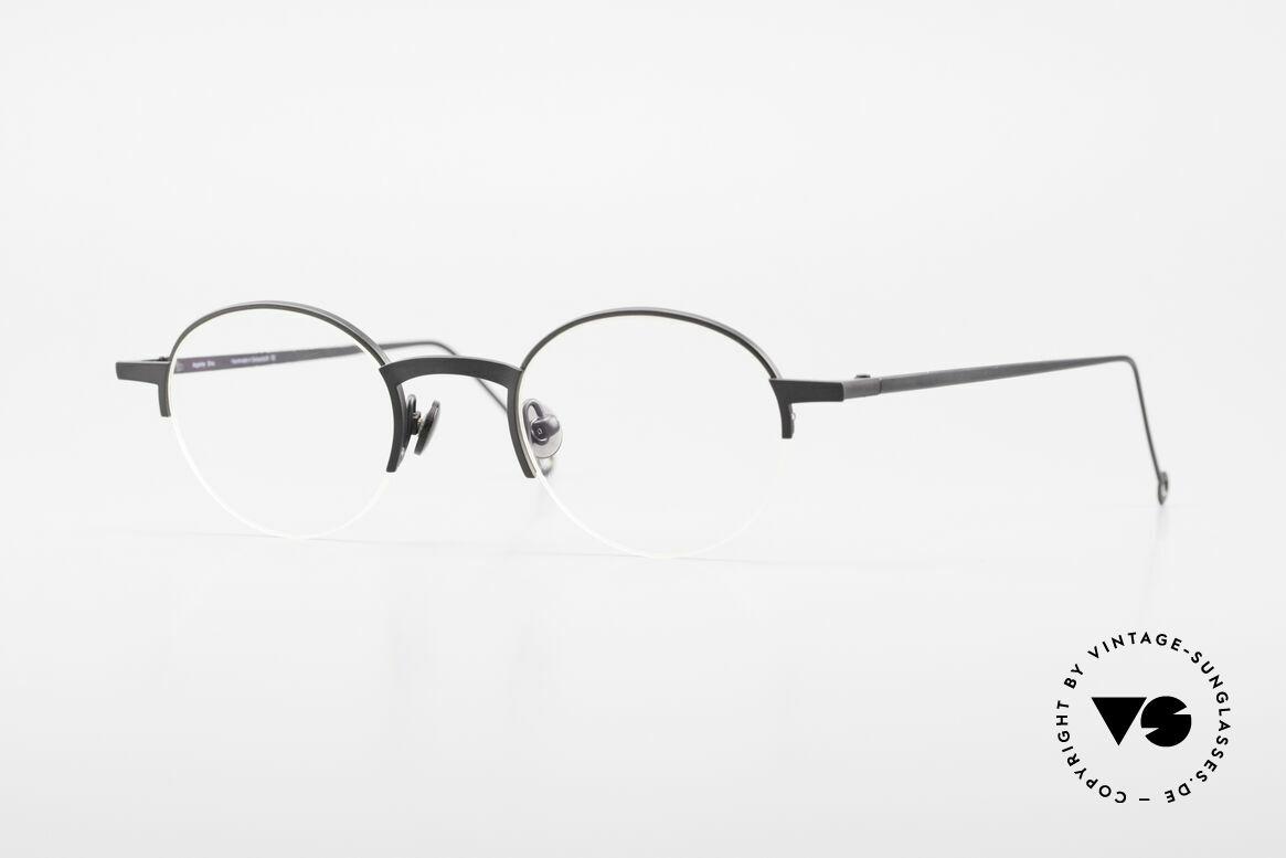 Markus Marienfeld Sina Pure Titanium Brille Handmade, Markus Marienfeld Brille, made in Switzerland, Passend für Herren und Damen