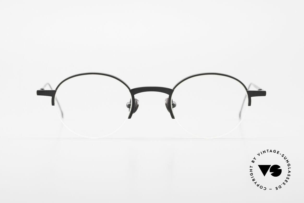 """Markus Marienfeld Sina Pure Titanium Brille Handmade, 90er Modell SINA aus der """"Aspekte""""-Kollektion, Passend für Herren und Damen"""